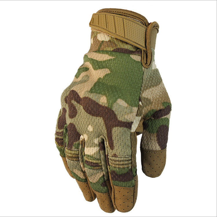 New Outdoor Touch Screen Tactical Gloves Motorcycle Racing Anti-skid Breathable Climbing Gloves