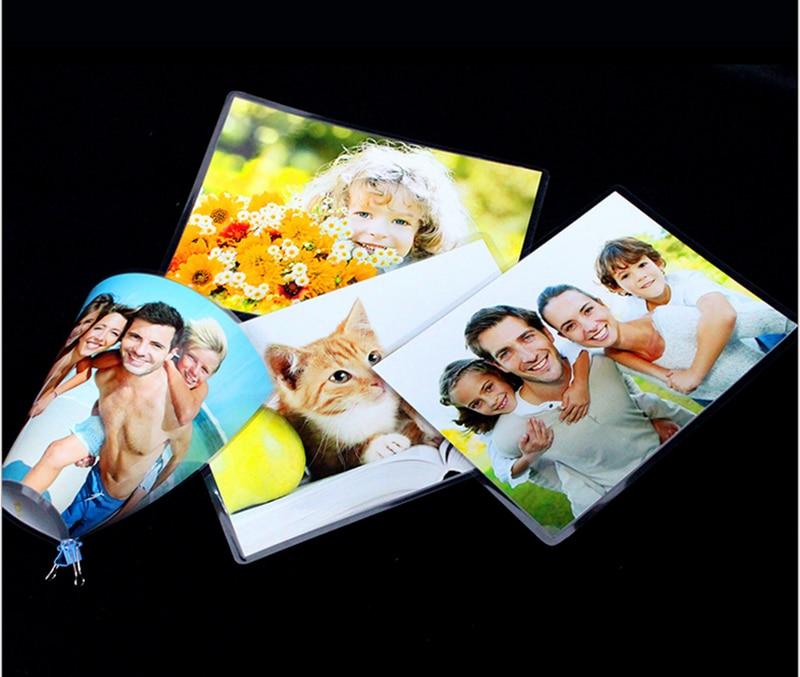 (5C) A4 Plastic Film Document. Photo. 100 Pieces Of Protective Film