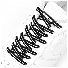 New Magnetic Shoelaces Elastic Shoe laces Safety Quick Lock No Tie lace Outdoor Unisex Leisure Sneakers Lazy 1 Pair