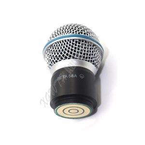 Image 2 - 交換カートリッジカプセルヘッド shure マイクシステム SM58 BETA58 BETA58A PGX4 SLX4 ワイヤレスマイクマイク