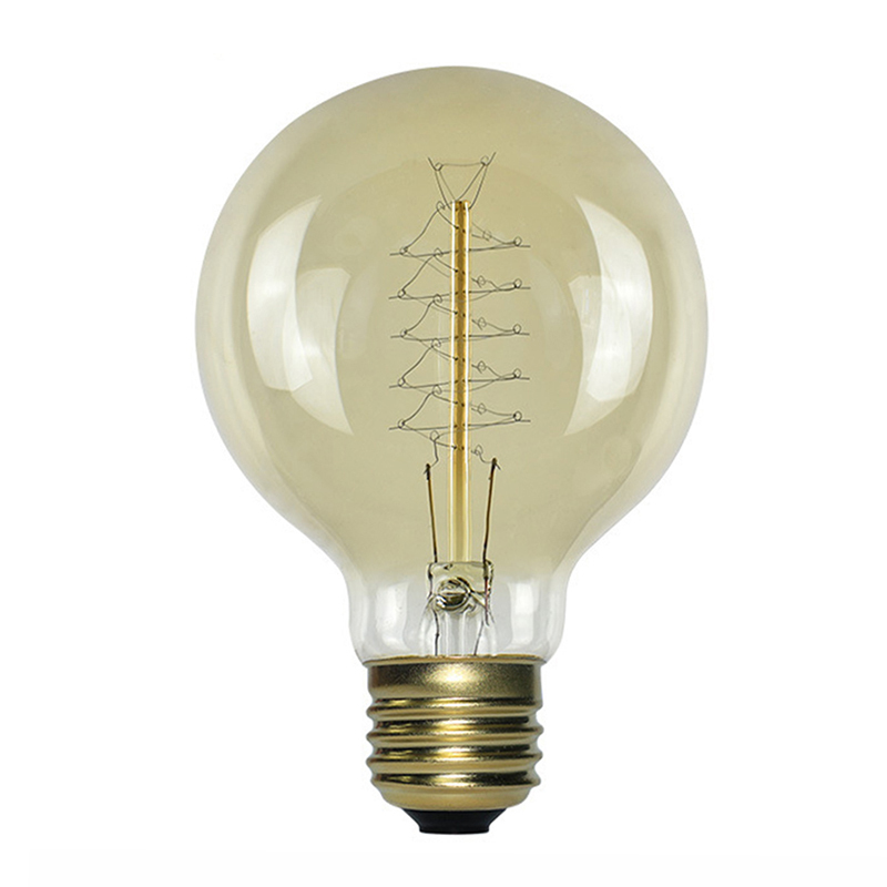 40W Edison Light Bulb 20-240V Hight Bright Vintage Filament Incandescent Bulb Retro Home Decor G80 T45 A19 T300 T185 SavingLamp