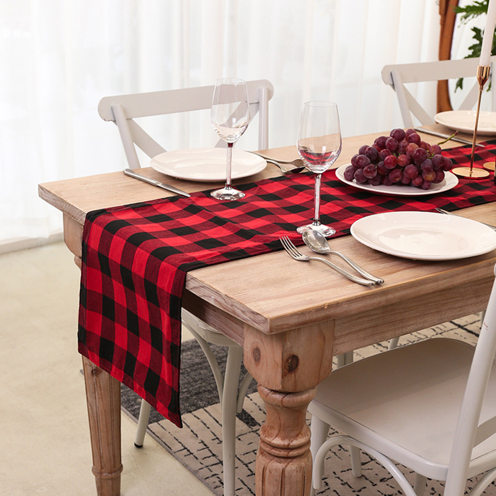 Christmas Pattern Dining Table Placemats Insulation Mats s Home Decor S