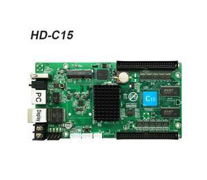 Image 2 - Werted الخيار الأول Huidu HD C15 غير المتزامنة/HD C15C/HD C35 بطاقة الفيديو LED بالألوان الكاملة ، يمكن إضافة وحدات لاسلكية واي فاي/3G/4G