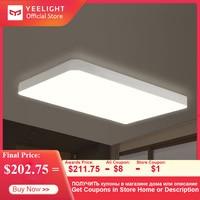 Yeelight Simple LED Smart Ceiling Light Pro For Living Room Bluetooth/Wifi/App Remote Control Dustproof Ceil Lamp 90W Lighting