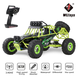WLtoys 12428 RC Car 4WD 1/12 50KM/H High Speed Racing Vehicle RC Electric Car 2.4G Remote Control Buggy Off-Road Car Toy for Kid