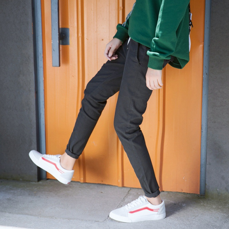Autumn And Winter Casual Pants Trousers Men's Elastic Band M23 Exterior Aberdeen-Style