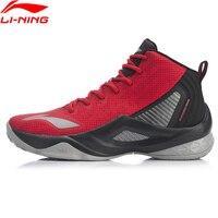 Li-ning men wade série tudo em equipe retorno na quadra sapatos de basquete forro de almofada wearable li ning sapatos esportivos abpp037 xyl246