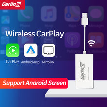 Carlinkit apple car play Беспроводной ключ android Авто usb