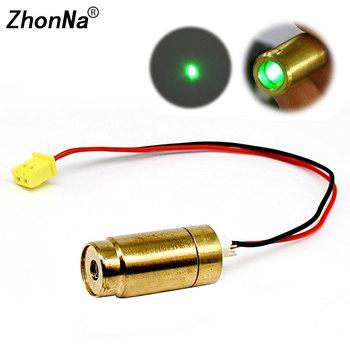 532nm 35mW zielony moduł laserowy 2 2V miedzi Laser Spot napromienianie lampa pozycjonująca dioda laserowa emisji światła celowanie akcesoria tanie i dobre opinie ZhonNa Rohs CN (pochodzenie) Pionowe i Poziome Lasery 2 linie refer to the details page ZN020 green dots 2 1-2 2V positioning or measuring