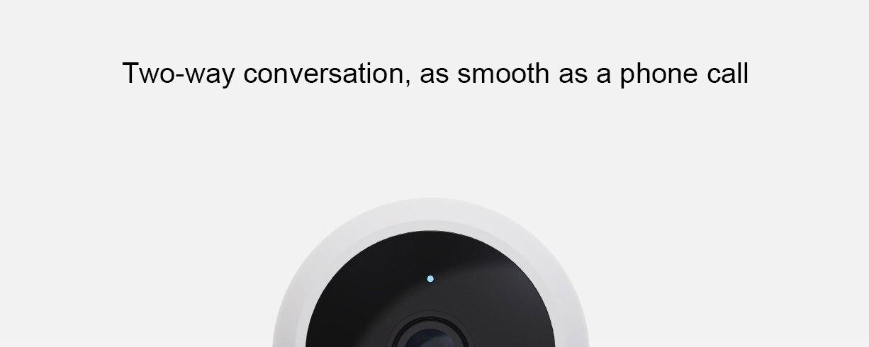 Novo xiaomi mijia câmera inteligente padrão ip65