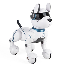 Smart electric intelligent interactive dog voice controlled robot