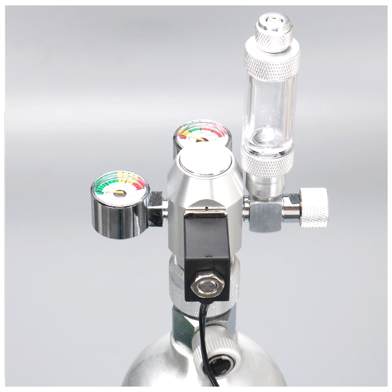 ZRDR Regulator Bubble-Counter Pressure-Reducing-Valve Fish-Tank-Tool Check-Valve Solenoid