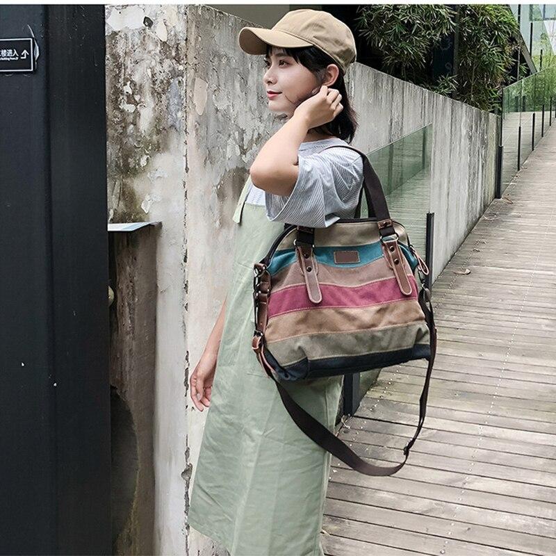 VIP Bag Womans Canvas Shoulder Bag 2020 Casual Women Handbag Ladies Fashion Luxury Designer Crossbody Bags Female Totes Bag 6