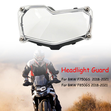 Headlight Cover Lamp Patch For BMW F850GS F750GS F 750 GS F850 F750 GS 2018 2019 2020 2021 Head Light Guard Protector Grille
