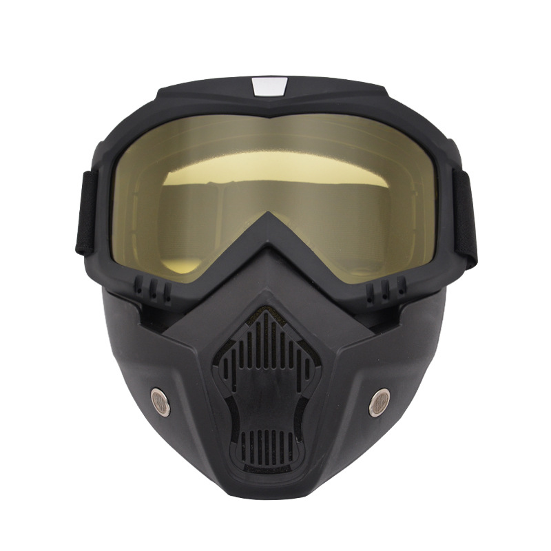 Night Vision Paintball Shooting Mask Goggles Shockproof Military Tactical Safety Mask Outdoor Airsoft CS War Game Hunting Mask