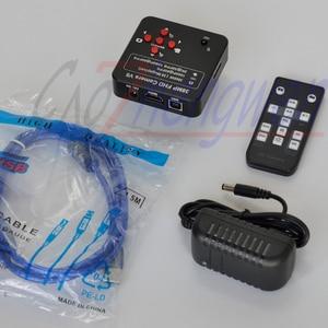Image 3 - FYSCOPE Neue, 60fps 1080P 38MP HDMI USB Digitale Industrie Video Mikroskop Kamera Mikroskop HDMI digital kamera + 8G SD Karte