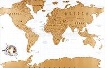 82% 2A58см новинка дизайн путешествия карта мир путешествия царапина выкл карта лучший подарок для образования школы высокое качество новинка прибытие 2021