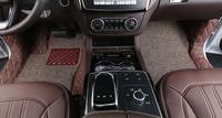Marrom esteiras do assoalho do carro personalizado apto para mercedes benz gle320 estilo do carro auto tapete acessório do carro cobrir