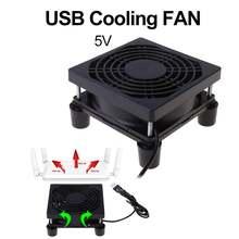 Вентилятор охлаждения 9 см/12 см 5 в постоянного тока usb источник