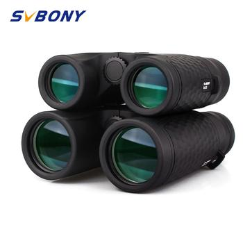 SVBONY 8x32/10x42 Fixed Focus Binoculars Waterproof High Power Telescope Roof Prism SV30 Powerful for Camping Hiking F9319 - discount item  45% OFF Camping & Hiking