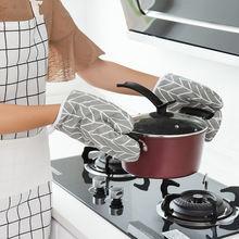 1 шт термостойкие перчатки кухонные духовки микроволновые из