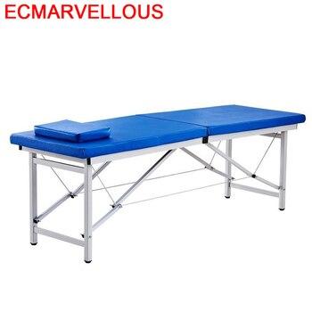 Belleza Lettino Massaggio Cadeira De Massagem Mueble salón Cama Plegable silla Plegable...