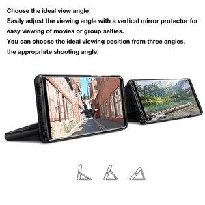 Image 2 - מקורי Samsung מראה תצוגה ברורה חכם כיסוי עבור Samsung Galaxy הערה 9 Note9 SM N9600 SM N960U SM N960F לעורר Slim Flip מקרה