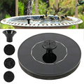 Floating Solar Fountain Garden Water Fountain Decoration Pool Pond Solar Panel Powered Water Pump Garden Decoration Bird Bath