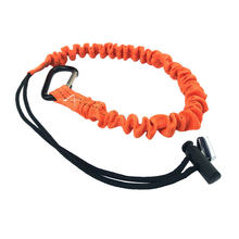 Portable Nylon Anti Fall Climbing Elastic Wear Resistant Mountaineering With Buckle Camping Outdoor Safety Rope(China)