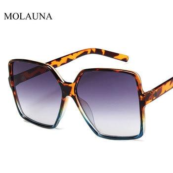 Vintage Oversize Square Sunglasses Women Luxury Brand Big Frame Women Sun Glasses Black Fashion Gradient Female Glasses Oculos 6