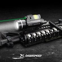 Пистолет для страйкбола pistola светодиодный светильник зеленый