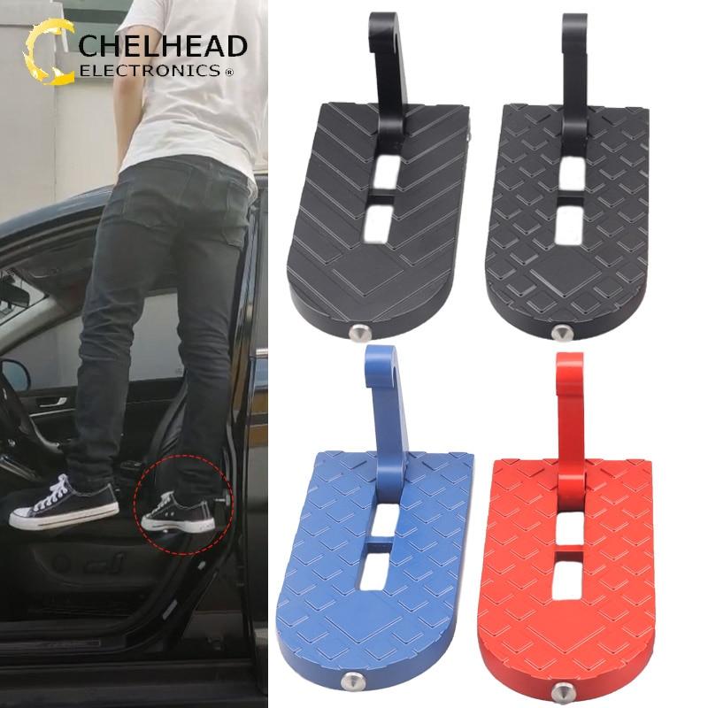 Универсальная автомобильная вспомогательная педаль Складная авто дверь крыша подножка ступня лестницы подножки для джипа внедорожника
