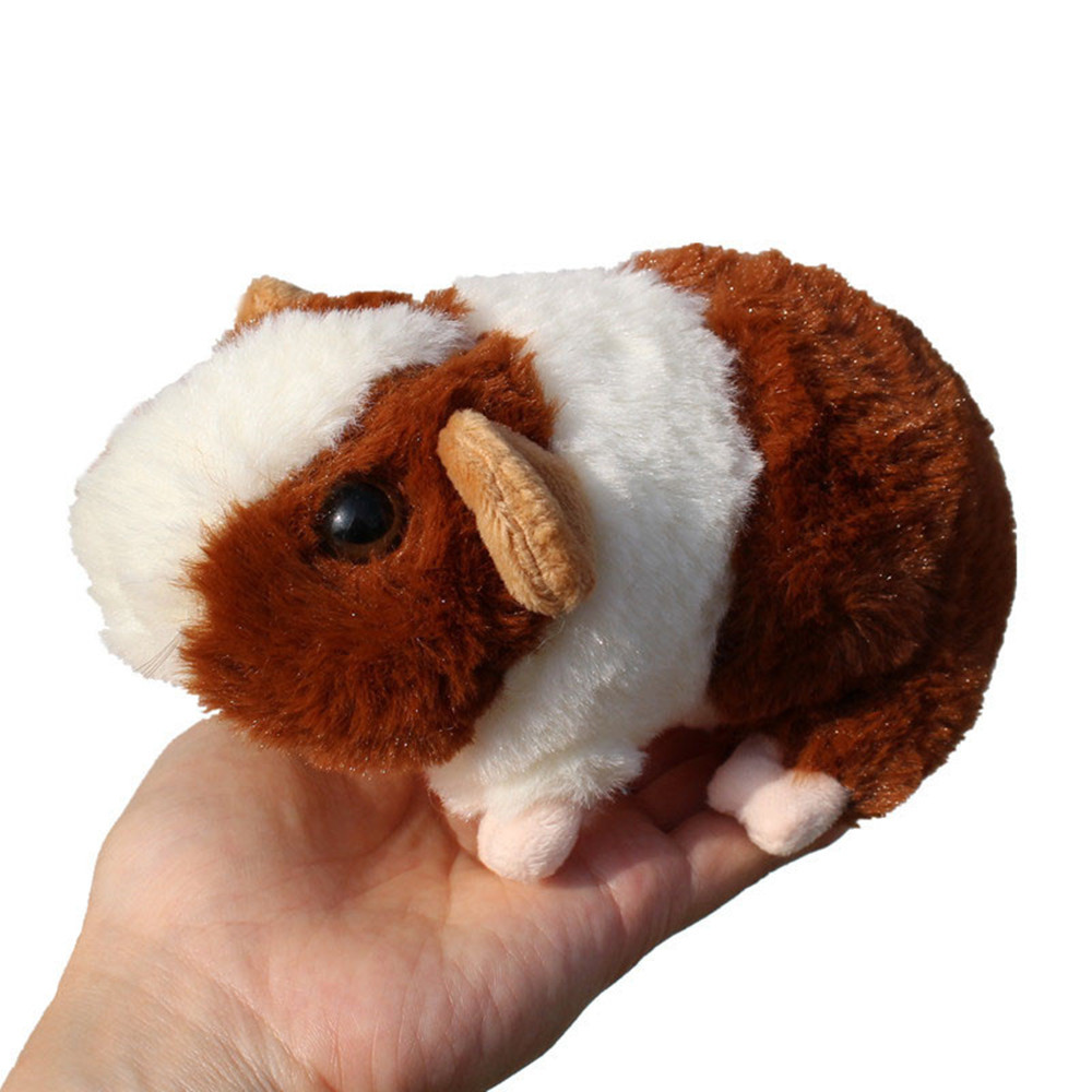Lifelike Guinea Pig Plush Toys Simulation Mouse Mini Hamster Plush Dolls Stuffed Animals Education Toys For Kids 15cm