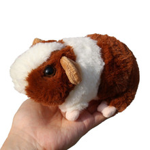 Lifelike Guinea Pig Plush Toys Simulation Mouse Mini Hamster Dolls Stuffed Animals Education for Kids 15cm