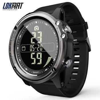 LOKMAT MK07 Smart Watch men Waterproof BT4.0 3D Sensor Smartwatch Unisex Men Women Fitness Bracelet Pedometer Smartband