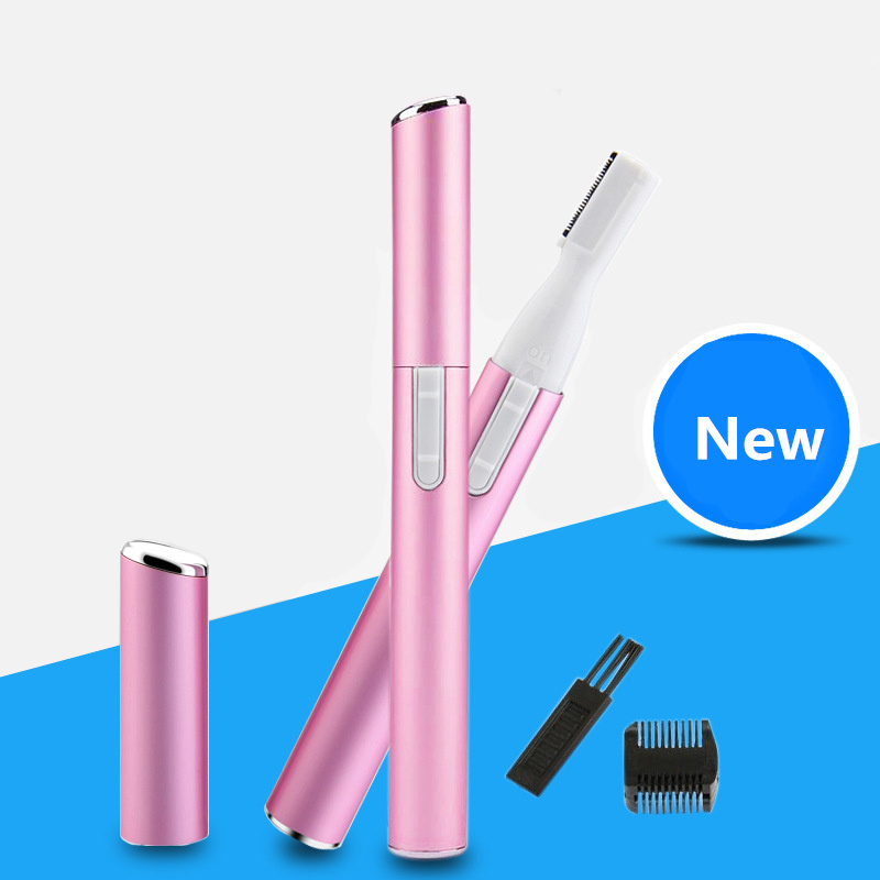 Mini Electric Eyebrow Trimmer Ladies Body Shaver Portable Eyebrow Shaper Depilador Hair Remover for Women Epilator