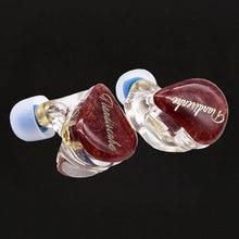 Tiandirenhe 1DD + 1BA コイル鉄ハイブリッド earphoned カスタマイズ安定した木材アップグレード樹脂イヤホン MMCX インナーイヤー型交換可能なケーブル 3