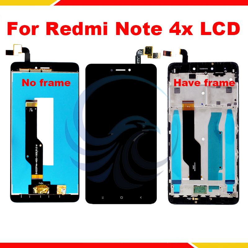 LCD+Frame For Xiaomi Redmi Note 4X LCD Display With Touch Screen Complete Assembly For Redmi Note 4x LCD Screen With Tools