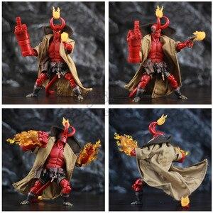 """Image 4 - Hellboy Anung Un Rama 1/12 6 """"figurka tkaniny suknia miecz pistolet KO 1000 zabawki Mike Mignola duże dziecko wariant komiks film zabawki lalki"""