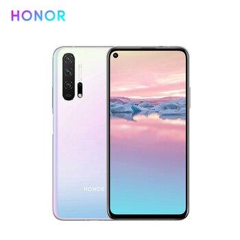 Перейти на Алиэкспресс и купить Мобильный телефон Huawei Honor 20 Pro, сотовый телефон, AI Quad Camera, 6,26 дюймполноэкранный дисплей, 4000 мАч, аккумулятор на весь день, две SIM-карты