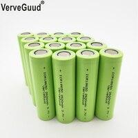 VerveGuud 100% Reale Kapazität Li-Ion ICR 18650-26F 3 7 v 2600 mAh 18650 Lithium-Akku Für Taschenlampe Batterien