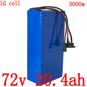 72V battery 72V 2000W 3000W electric scooter battery 72V 20AH electric bicycle battery 72V 20AH Lithium battery use LG cell