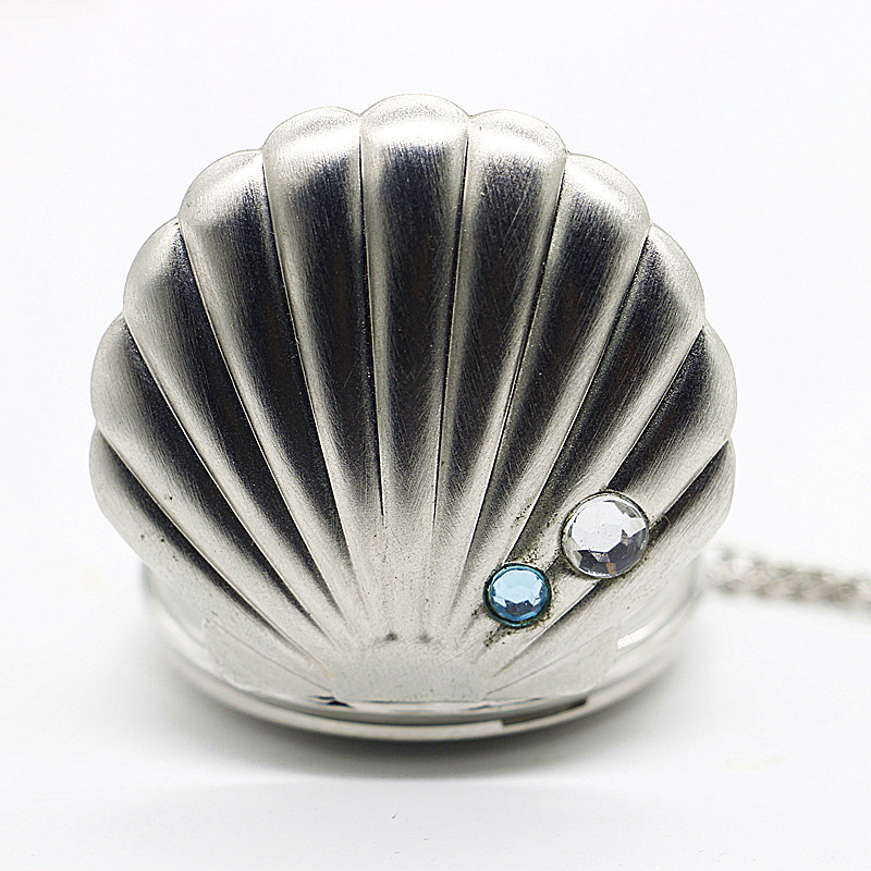 Fashion-Silver-Quartz-Pocket-Watch-Elegant-Shells-Decoration-Arab-Numerals-Display-Best-Gift-For-Men-Women