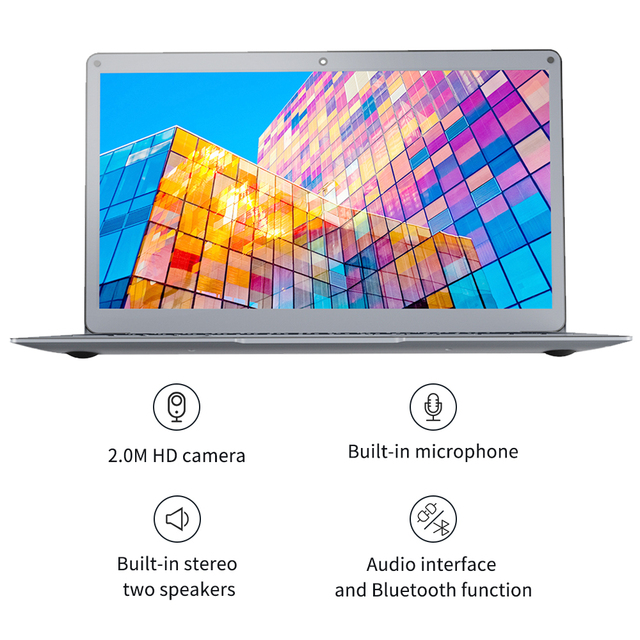 Jumper EZbook X3 Intel Celeron Quad Core 8GB 128GB Notebook Win 10 Laptop 13.3 Inch 1920*1080 IPS Screen 2.4G/5G WiFi Computer 4