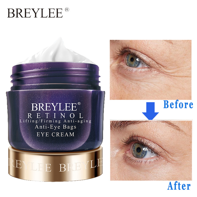 Breylee Retinol Eye Cream Anti Aging Lifting Firming Remove Dark