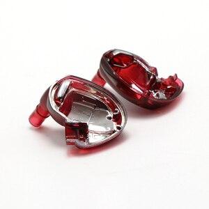Image 3 - Um par diy reparação habitação escudo capa caso para se535 editio vermelho, artesanal diy personalizado armadura no fone de ouvido