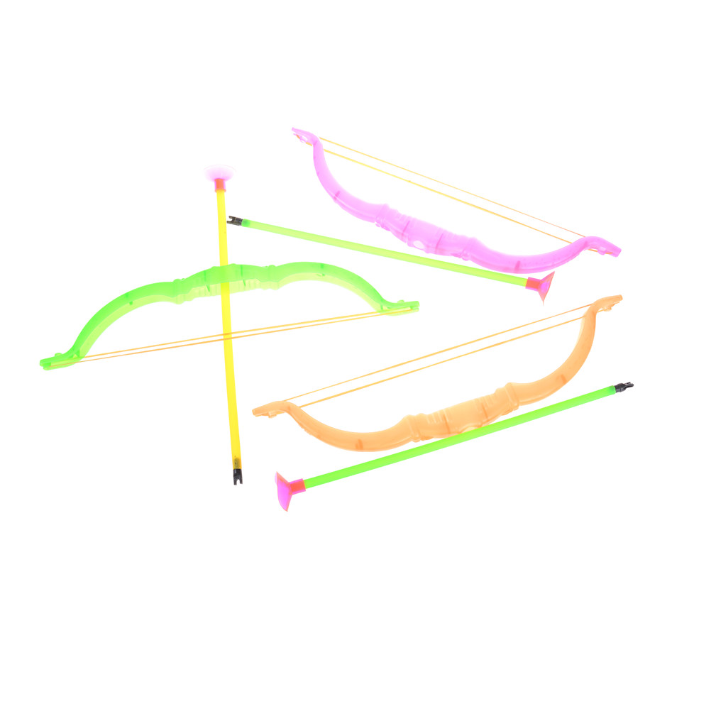 Funny Plastic Archery Bow And Arrow Toys Outdoor Garden Games Toy Shooting Sports Toys For Children Gifts Set 26cm