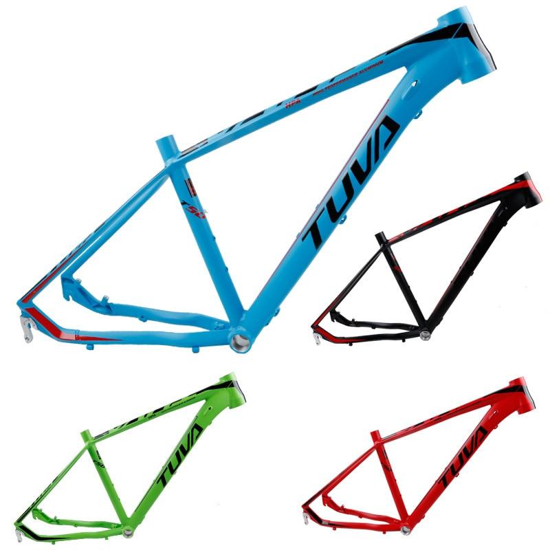 TUVA T50 26/27.5*16 17inch MTB Mountain Bike Off-road Frame Aluminum Alloy AL7005 Disc Brake 44-56MM Head Tube Bicycle Frame
