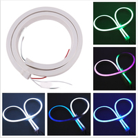 24V Full Color LED Neon Strip Light Lamp WS2811 Waterproof 5050 RGB Neon Sign Lighting For Home Decoration