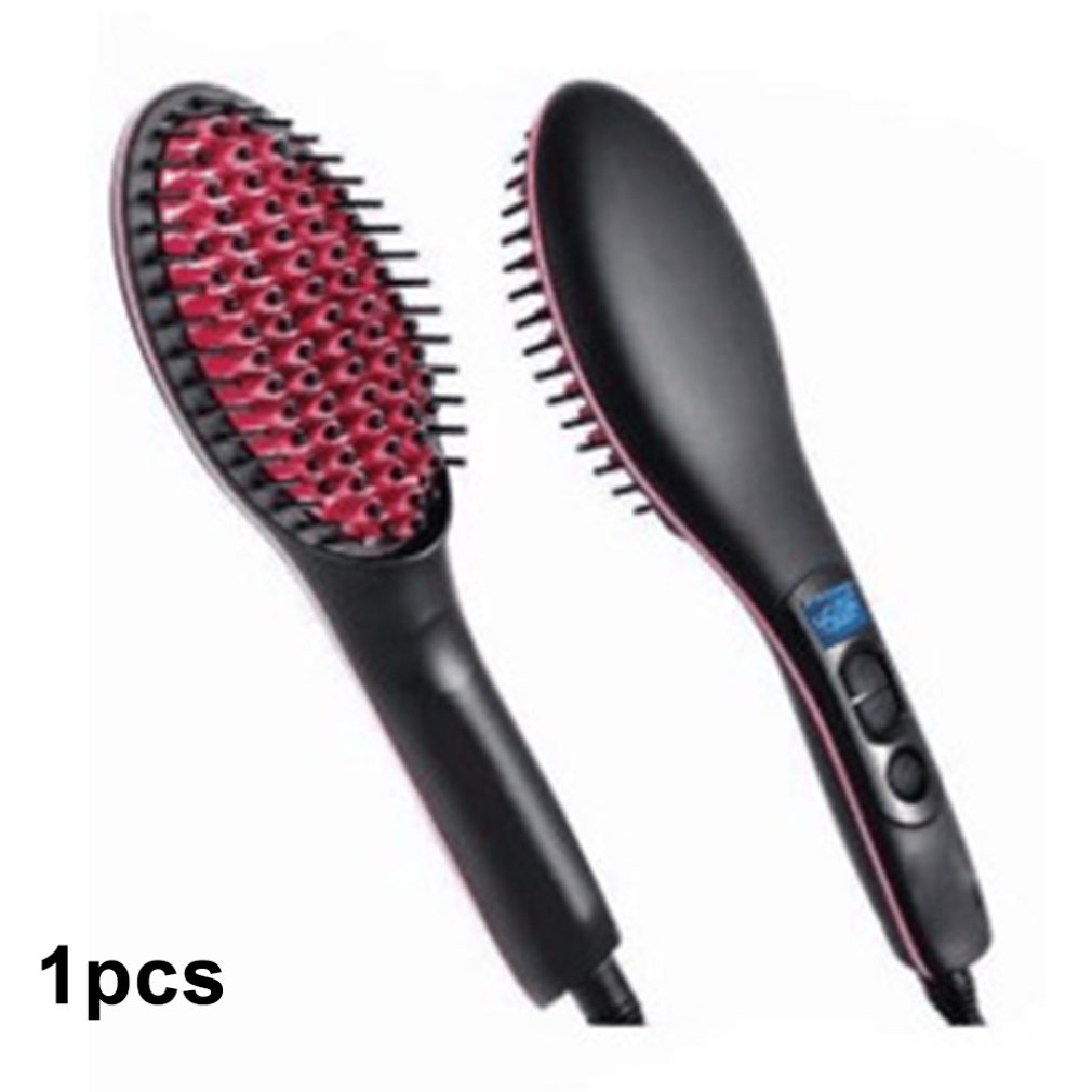 Hair Comb Straightener Magic Electric Straight Brush Fast
